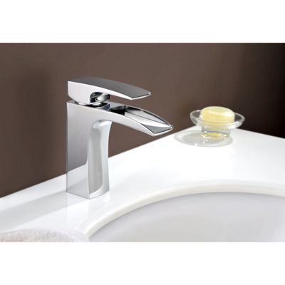 15.5-in. W CUPC Round Undermount Sink Set In Biscuit - Chrome Hardware With 1 Hole CUPC Faucet