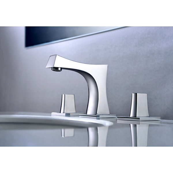 22.25-in. W Above Counter White Vessel Set For 3H8-in. Center Faucet - Faucet Included