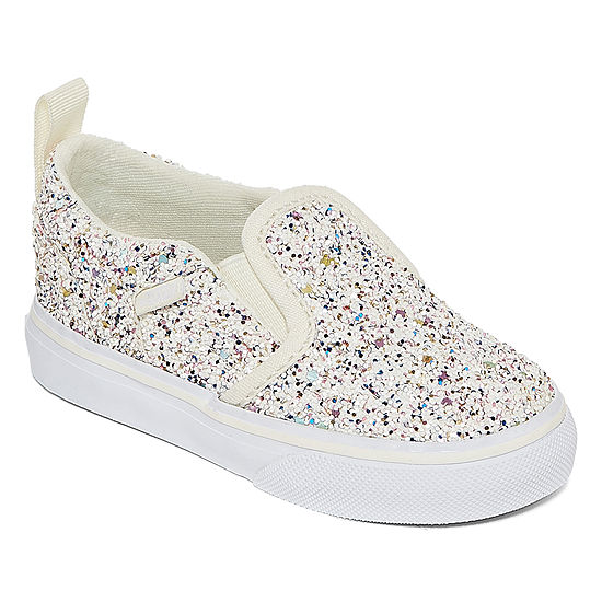 Vans Asher Girls Skate Shoes - Toddler
