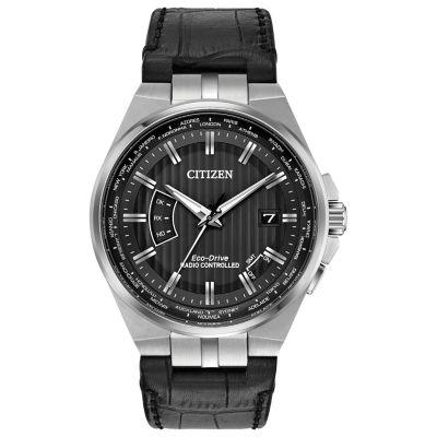 Citizen Mens Black Strap Watch-Cb0160-00e