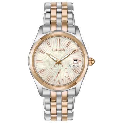 Citizen Womens Two Tone Bracelet Watch-Ev1036-51y