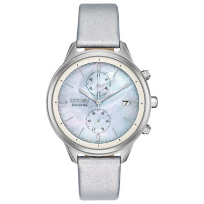 Citizen Womens Silver Tone Strap Watch-Fb2000-03d