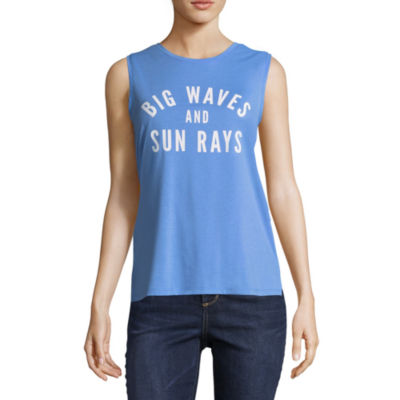 """Big Waves & Sun Rays"" Tank - Juniors"