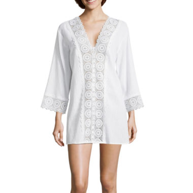 Lm Beach Swimsuit Cover-Up Dress