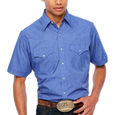 Ely Cattleman Short Sleeve Snap-Front Shirt