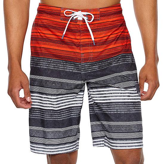 Speedo Striped Board Shorts
