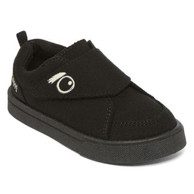 Okie Dokie Chaos Boys Glow in the Dark Slip-On Shoes - Toddler