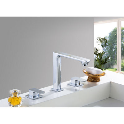 16-in. W Round Undermount Sink Set In Biscuit - Chrome Hardware With 3H8-in. CUPC Faucet