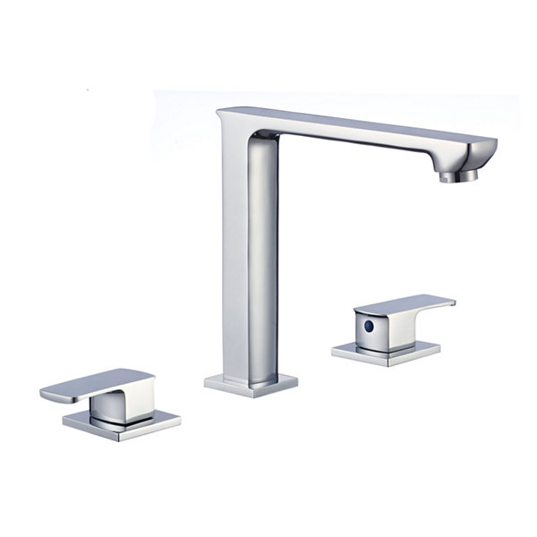 16.5-in. W CSA Oval Undermount Sink Set In White -Chrome Hardware With 3H8-in. CUPC Faucet
