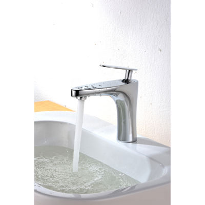 18.75-in. W Above Counter White Vessel Set For 1 Hole Center Faucet - Faucet Included