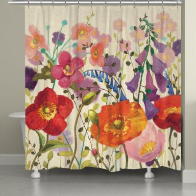 Laural Home Couleur Printemps Shower Curtain