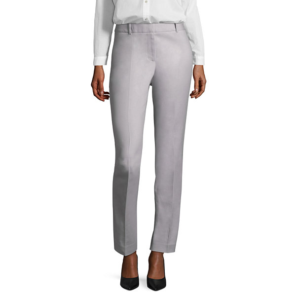 Liz Claiborne Classic Fit Double Cotton Audra Trousers