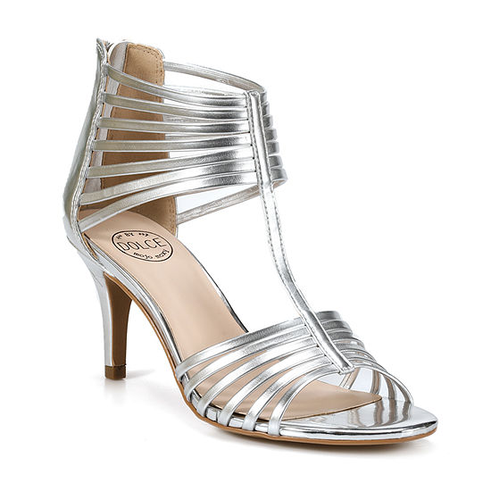 Dolce By Mojo Moxy Womens Tinsel Strap Sandals