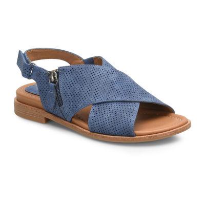 Eurosoft Womens Darla Adjustable Strap Flat Sandals