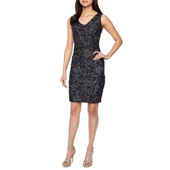 Blu Sage Sleeveless Sheath Dress