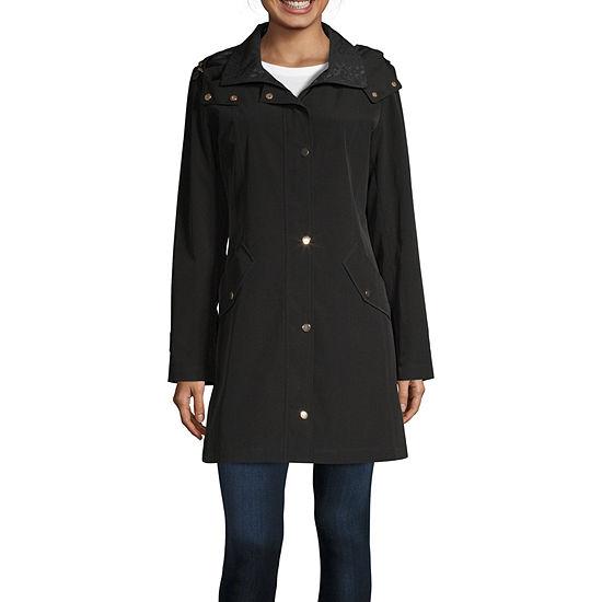 Miss Gallery Water Resistant Lightweight Raincoat