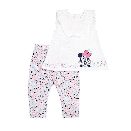 Disney Minnie Mouse Legging Set-Baby Girls