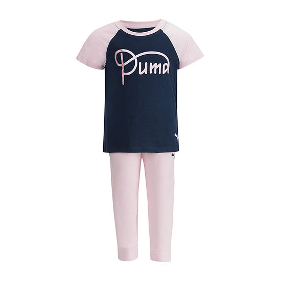 Puma 2-pc. Tonal Pant Set Girls