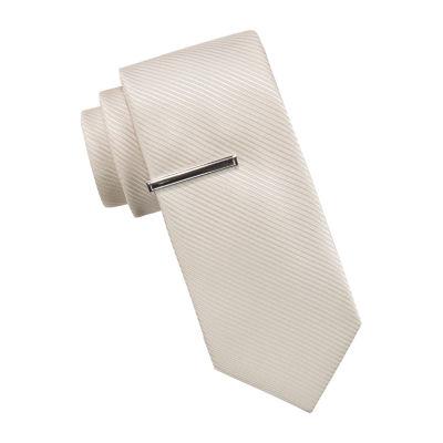 JF J.Ferrar Prom Striped Tie