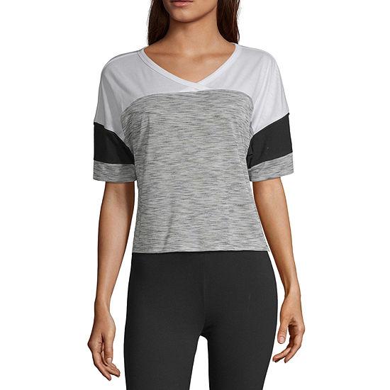 Flirtitude Unisex V Neck Short Sleeve T Shirt Juniors
