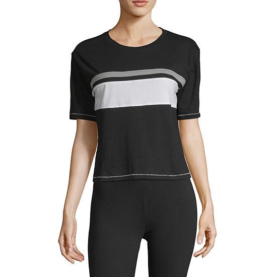 Flirtitude Unisex Crew Neck Short Sleeve T Shirt Juniors