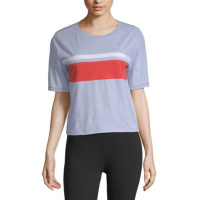 Flirtitude-Unisex Crew Neck Short Sleeve T-Shirt Juniors