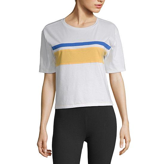 Flirtitude Juniors-Unisex Adult Crew Neck Short Sleeve T-Shirt
