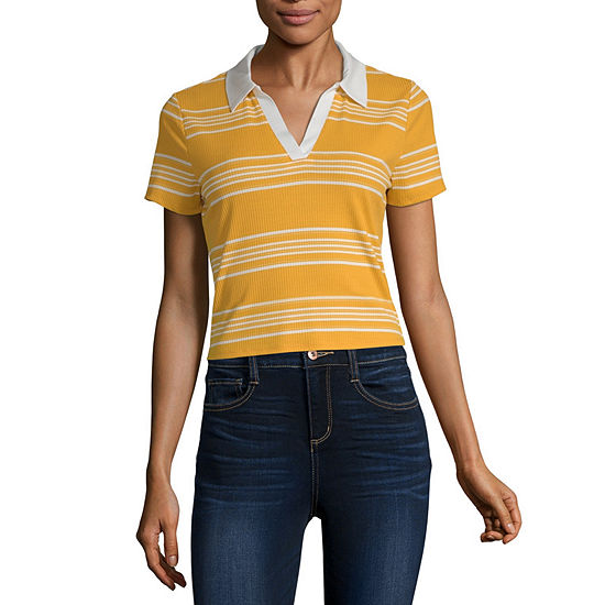 Arizona Juniors Womens Short Sleeve Polo Shirt