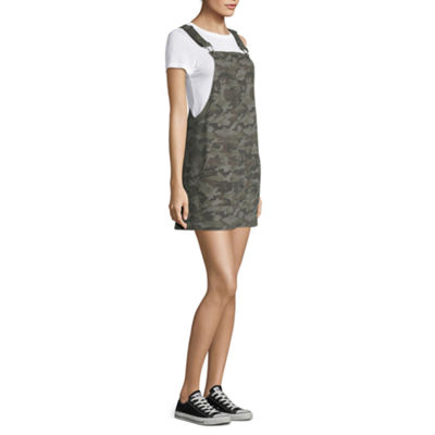 Arizona Sleeveless Skirtalls-Juniors