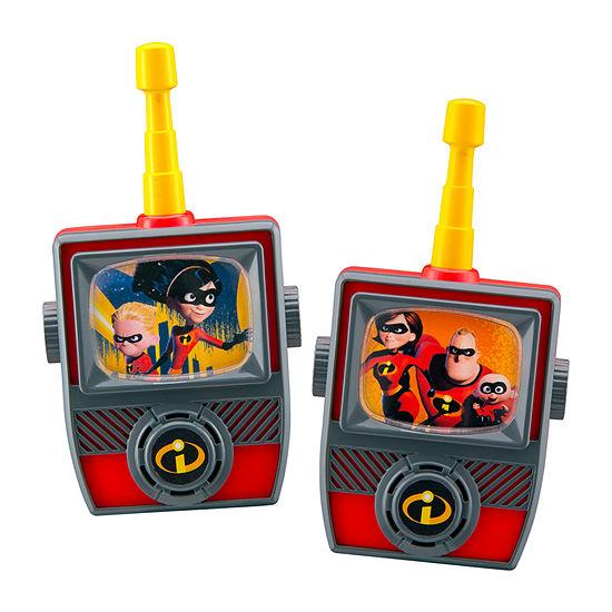 KIDdesigns Disney Pixar Incredibles 2 Walkie Talkies