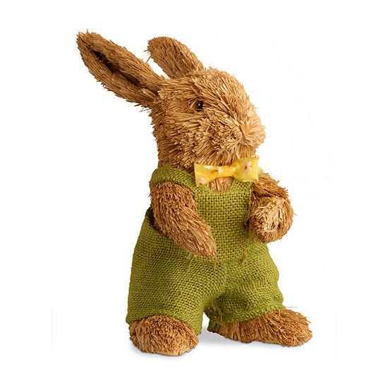 "National Tree Co. 10.8"" Brown Rabbit Figurine"