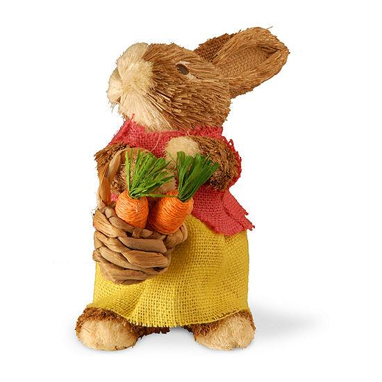 "National Tree Co. 9.6"" Brown Rabbit Figurine"