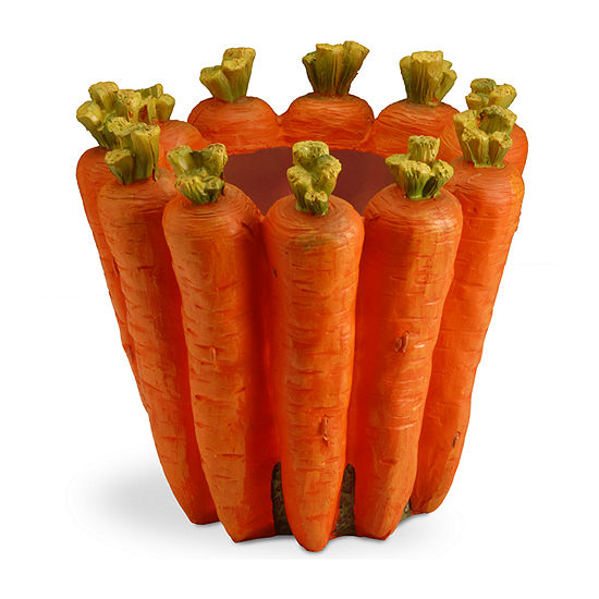 National Tree Co. Carrot Flower Pot Planter