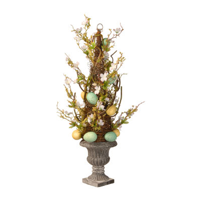"National Tree Co. 27"" Easter Egg Potted Tree"