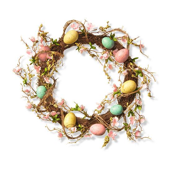 "National Tree Co. 18"" Easter Egg Wreath Wreath"