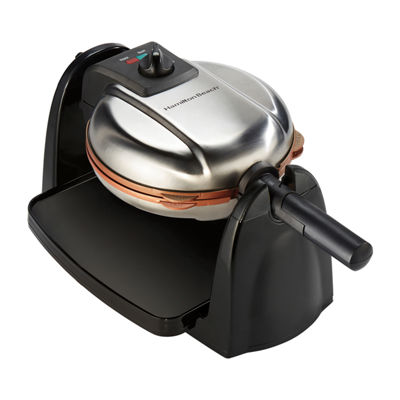 Hamilton Beach® Removable Grid Belgian Waffle Maker