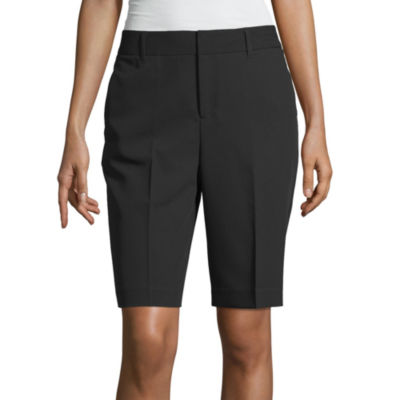 "Worthington Womens 10 1/2"" Bermuda Short"