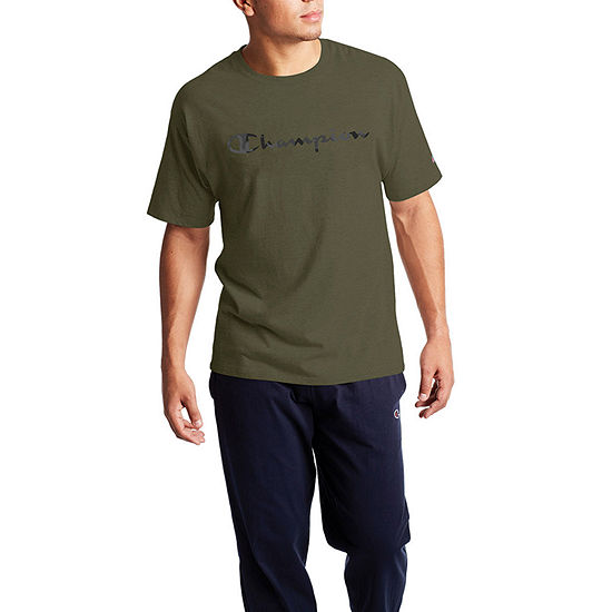 Champion Camo Mens Crew Neck Short Sleeve Graphic T-Shirt