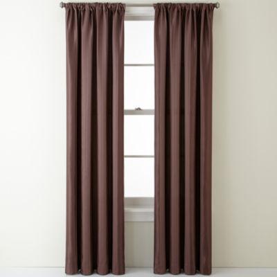Liz Claiborne® Blakely Stripe Rod-Pocket Curtain Panel