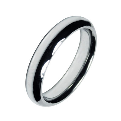 Mens 5mm Cobalt Wedding Band