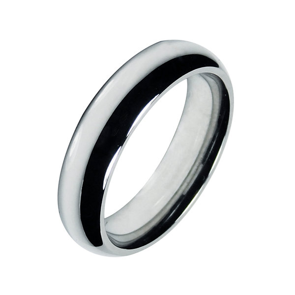 Mens 6mm Cobalt Wedding Band