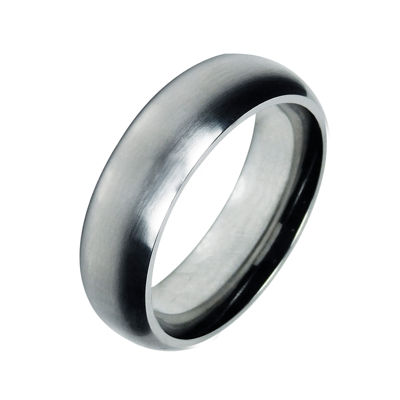 Mens 7mm Cobalt Wedding Band