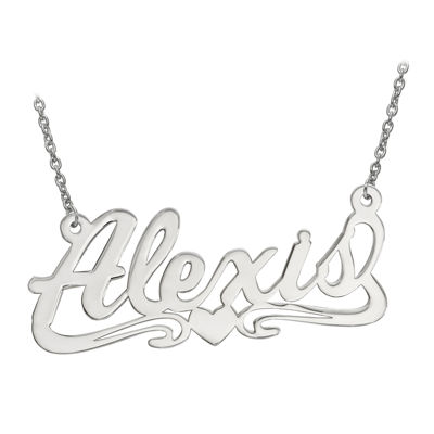 Personalized 16x36mm Aktuelle Font Name Necklace