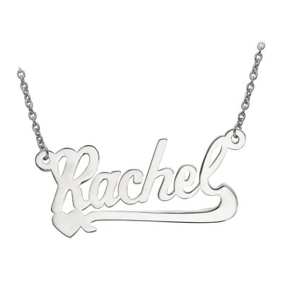Personalized 14x29mm Aktuelle Font Name Necklace