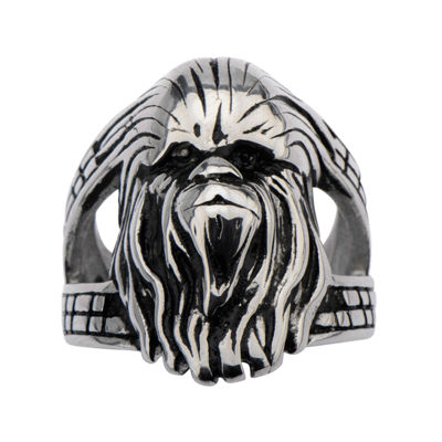 Star Wars® Stainless Steel Chewbacca 3D Ring