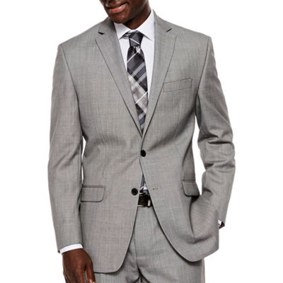 Collection by Michael Strahan Black White Birdseye Suit Jacket - Classic Fit