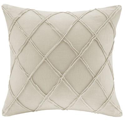 """Harbor House Linen 18"""" Square Decorative Pillow"""