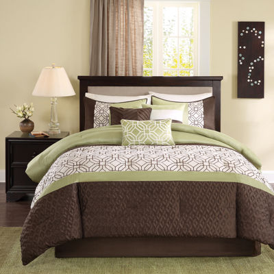 Madison Park Lindan 7-pc. Embroidered Comforter Set
