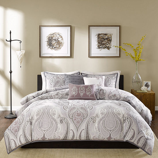 Madison Park Morena 6-pc. Duvet Set