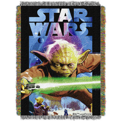 Star Wars Yoda Tapestry Throw